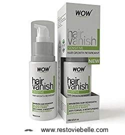 Wow All Natural Hair Removal Cream For Sensitive Skin