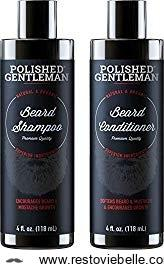 Polished Gentleman Beard Growth and Thickening Set