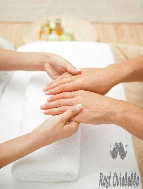 Manicure. best hand lotions for men