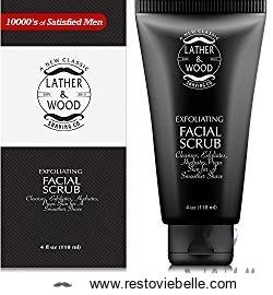 Lather and Wood Best Face Wash for Men