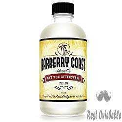 Bay Rum Aftershave from Barberry Coast Shave.