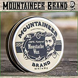 Mountaineer Brand 100% Natural Moustache Wax 1