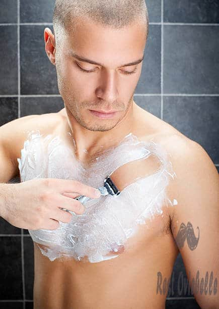 man shaving - body shaver men s and pictures Can I Use My Regular Razor For Body Grooming?