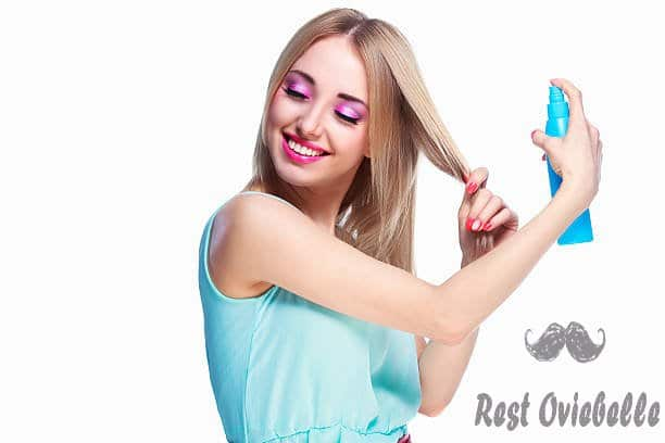 woman with a hair spray - hair spray for thin hair s and pictures Things To Consider When Buying The Best Hair Spray For Thin Hair