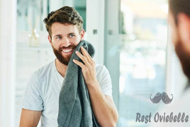 Wash and exfoliate your beard