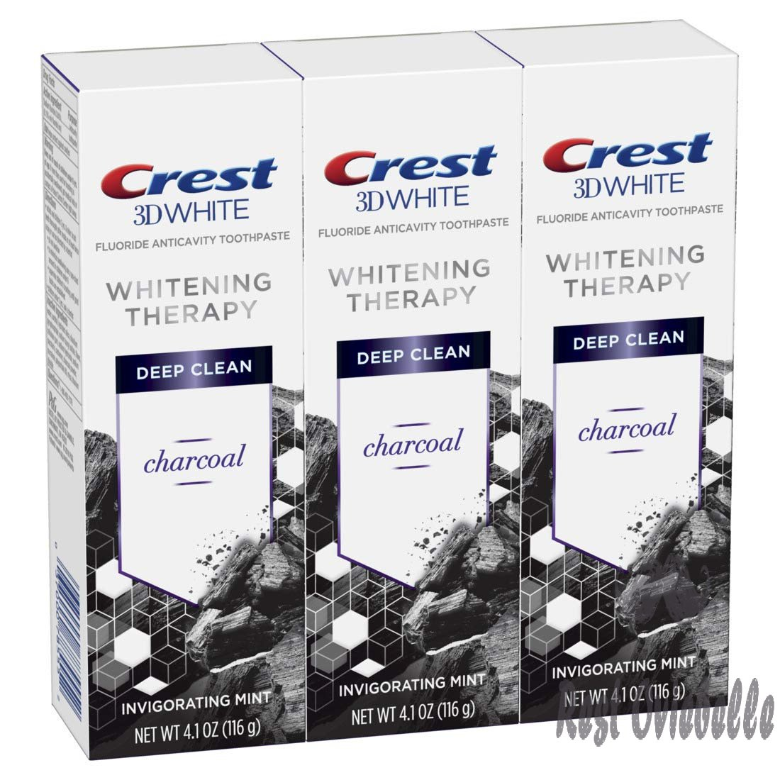 Crest Charcoal 3D White Toothpaste,