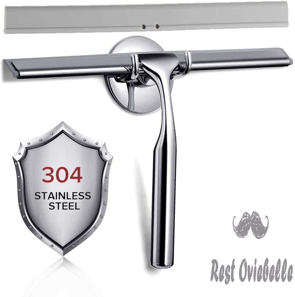 Quntis Shower Squeegee, 10 Stainless