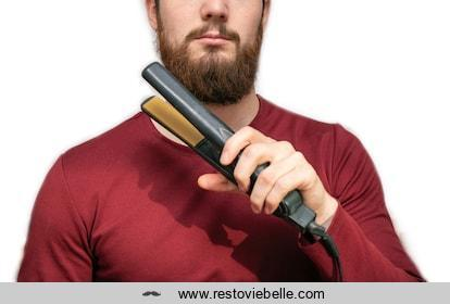How to Straighten Your Beard With a Beard Hair Straightener