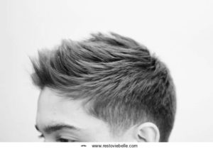 Spike Hairstyle for bald men