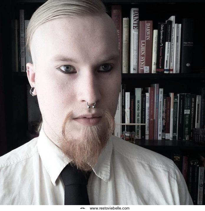 How to Get Fu Manchu With Goatee Look