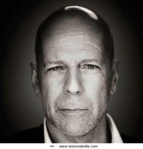 Bruce Willis Shaved Hairstyle
