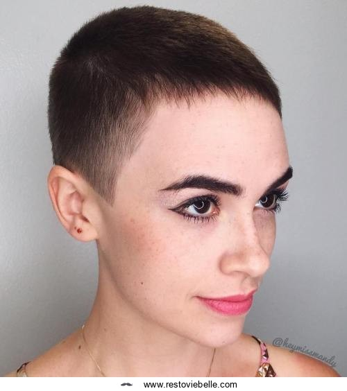 Pixie Cut with a Tapered Fade