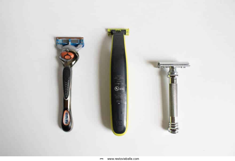 Weight and Size of the Oneblade Compared to Other Razors