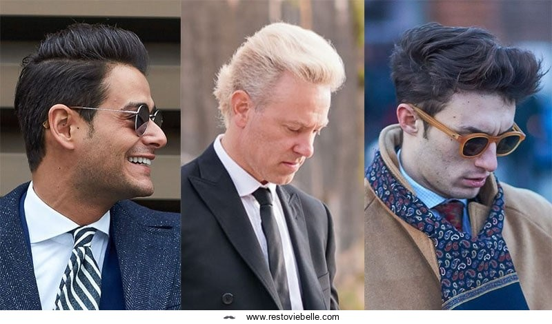 Faux Hawk haircuts for men with thick hair