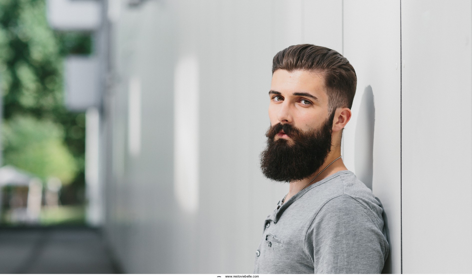 how to make your beard thicker