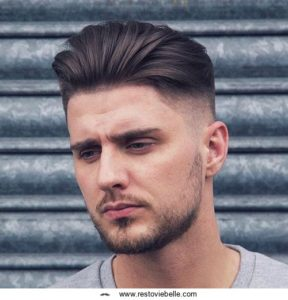 Haircuts For Round Face Quiff